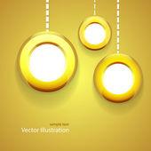 Vector background. Christmas background — ストックベクタ
