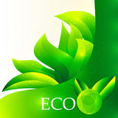 Eco background — Stock Vector