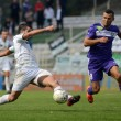 Kaposvar - Ujpest soccer game — Stock Photo #13164471