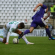 Kaposvar - Ujpest soccer game — Stock Photo