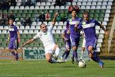 Kaposvar - Ujpest soccer game — Zdjęcie stockowe