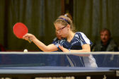 Table tennis game — Stock Photo