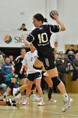 シオーフォク - ブダペストのハンドボールの試合 — ストック写真