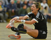 Siofok - Budapest handball match — Stock Photo