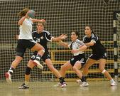 Siofok - Budapest handball match — Stock Photo