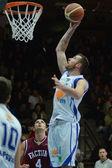Kaposvar - debrecen basketbol oyunu — Stok fotoğraf