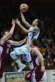 Kaposvar - jogo de basquete de debrecen — Foto Stock