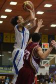 Kaposvar - debrecen-basketball-spiel — Stockfoto