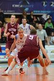 カポシュワール - デブレツェン バスケット ボール ゲーム — ストック写真
