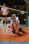 Jönköpings södra - bse volleybal spel — Stockfoto