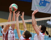 Kaposvar - BSE volleybal game — Stock Photo
