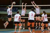 Kaposvar - BSE volleybal game — Stock Photo