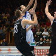 Stock Photo: Kaposvar - Pecs basketball game