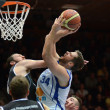 Kaposvar - Pecs basketball game — 图库照片 #19145425