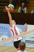 Kaposvar - ujpest volleyballspiel — Stockfoto