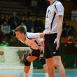 Kaposvar - Innsbruck volleybal game — Foto Stock