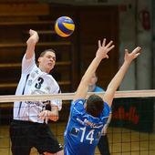 Kaposvar - Innsbruck volleybal game — Stock Photo