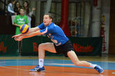 Kaposvar - Innsbruck volleybal game — Stock Photo