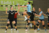 Siofok - fehervar match de handball — Photo