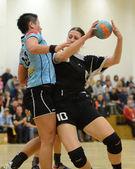 Siofok - fehervar-handball-match — Stockfoto