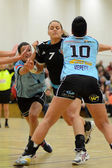 Siofok - Fehervar handball match — Stock Photo