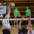 Kaposvar - PTE-PEAC volleyball game — Stockfoto