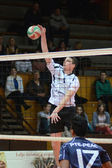 Kaposvar - PTE-PEAC volleyball game — Stock Photo