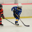 Kaposvar -  Szombathely U8 Ice hockey match — Foto de Stock