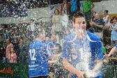 Kaposvár - kecskemet siatkówka gra — Zdjęcie stockowe