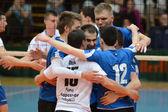 Kaposvar - Kecskemet volleyball game — Stock Photo