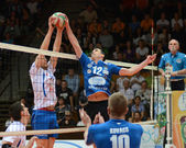Kaposvar - jeu de volley-ball de kecskemet — Photo