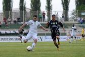 Kaposvár - mecz piłki nożnej szombathely — Zdjęcie stockowe