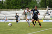 Kaposvar - Szombathely soccer game — Stock Photo