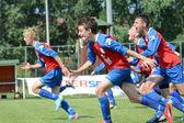 Minsk - Brasov under 15 game — Stock Photo