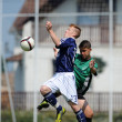 Kaposvar - Syfa West under 17 soccer game — Foto de Stock