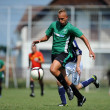 Kaposvar - Syfa West under 17 soccer game — Stock Photo