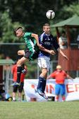 Kaposvar - Syfa West under 17 soccer game — Stock Photo
