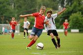 Piłka nożna młodzieży — Zdjęcie stockowe