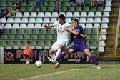 Kaposvar - Kecskemet soccer game — Photo