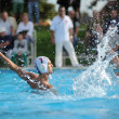 Kaposvar - Honved water-polo game — Stock Photo
