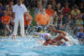 Kaposvar - Honved water-polo game — Stock Photo