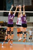 Kaposvar - jogo de voleibol ujpest — Fotografia Stock