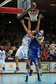 Kaposvar - juego de baloncesto supernet — Foto de Stock