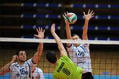 Kaposvar - Sumeg volleyball game — Stockfoto