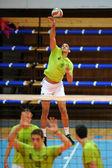 Kaposvar - Sumeg volleyball game — Foto de Stock