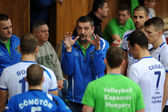 Kaposvar - Sumeg volleyball game — Stock Photo