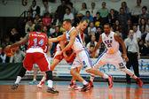 Kaposvar - Paks basketball game — Stock fotografie