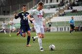 Kaposvar - Puskas Akademia soccer game — Stock Photo