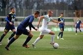 Kaposvar - Puskas Akademia soccer game — Stockfoto
