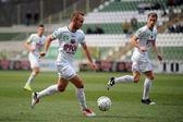 Kaposvar - Puskas Akademia soccer game — Photo